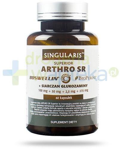 Singularis Superior Arthro SR + siarczan glukozaminy 60 kapsułek