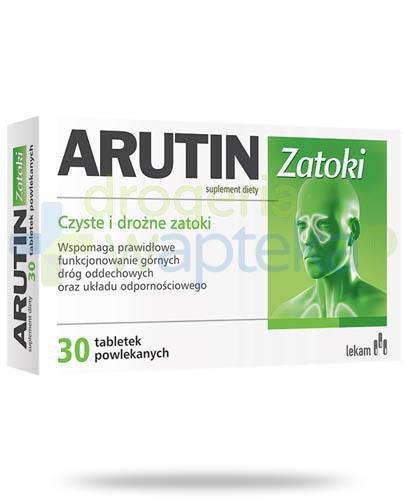 Arutin Zatoki 30 tabletek