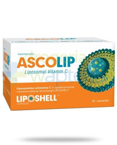 Ascolip Liposomalna witamina C 5g 30 saszetek