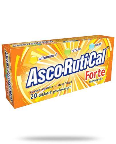 AscoRutiCal Forte tabletki powlekane 20 tabletek