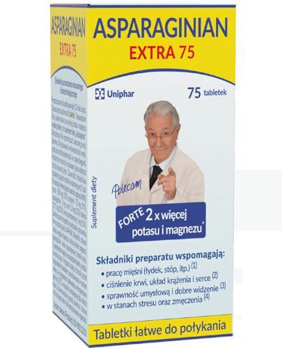 Asparaginian Extra Forte 75 tabletek