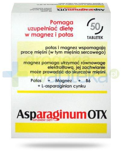 Asparaginum OTX 50 tabletek