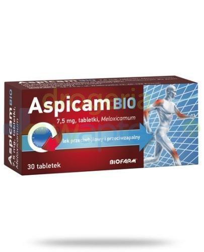 Aspicam Bio 7,5mg 30 tabletek