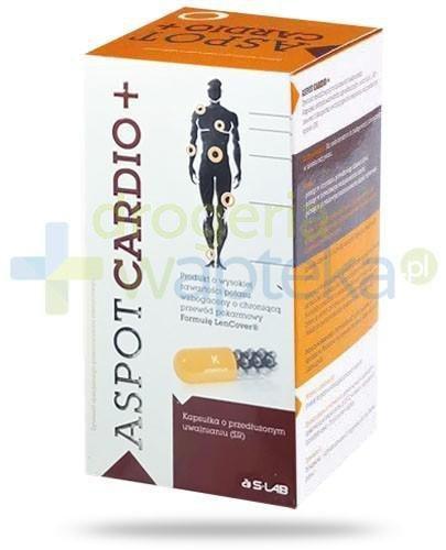 Aspot Cardio+ potas 315mg wzbogacony o formułę LenCover 100 kapsułek