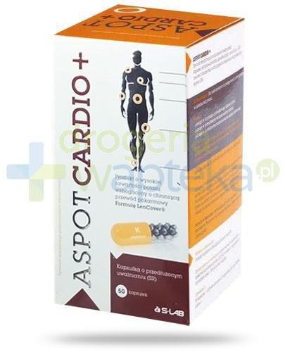 Aspot Cardio+ potas 315mg wzbogacony o formułę LenCover 50 kapsułek