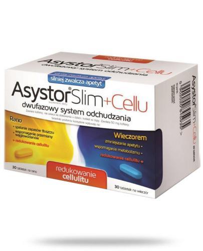 Asystor Slim Cellu 60 tabletek