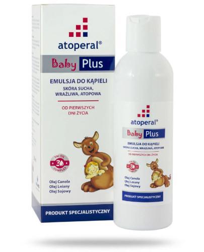 Atoperal Baby Plus emulsja do kąpieli 400 ml  [Data ważności 31-10-2021]