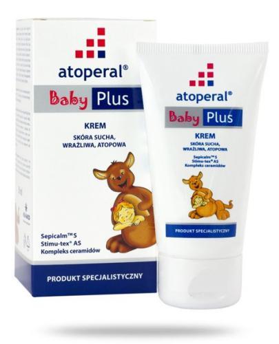 Atoperal Baby Plus krem 50 ml + drugi krem [GRATIS] [Data ważności 16-11-2019]