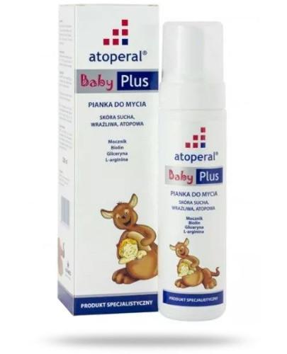 Atoperal Baby Plus pianka do mycia 200 ml [Data ważności 28-02-2019]