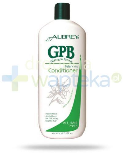 Aubrey Glikogenowo proteinowa odżywka przywracająca włosom równowagę 325 ml  whited-out