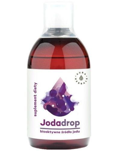 Aura Herbals Jodadrop bioaktywne źródło jodu w płynie 250 ml
