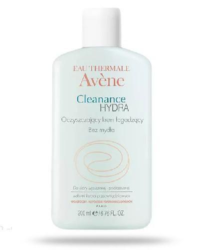 Avene Cleanance Hydra krem oczyszczająco łagodzący 200 ml [KUP 2 produkty = Avene body ...
