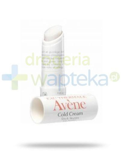 Avene Cold Cream Pomadka 4g  whited-out