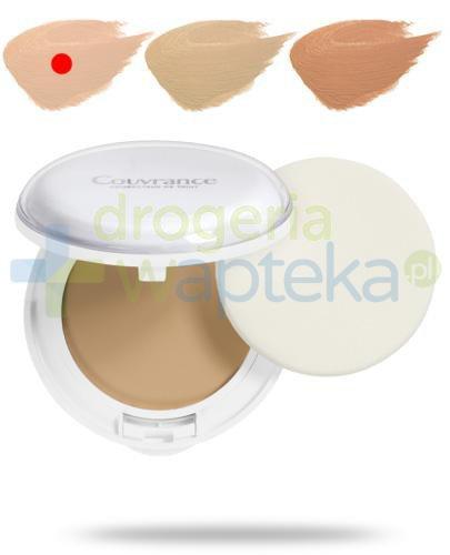 Avene Couvrance Comfort SPF30 kremowy podkład w kompakcie 01 porcelanowy 10 g + Avene flu...