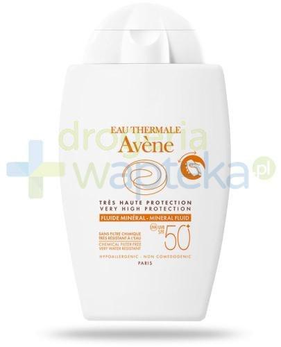 Avene Fluid mineralny SPF50+ do skóry nadwrażlwiej 40 ml