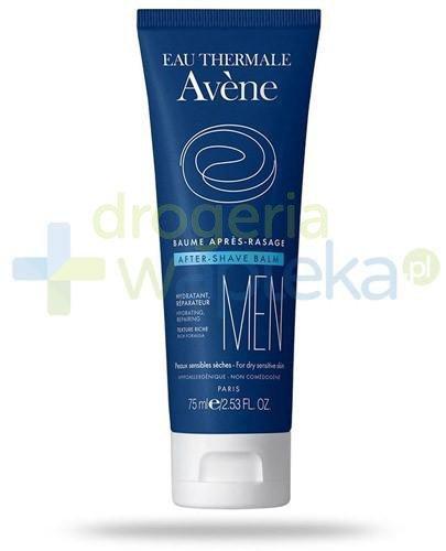 Avene Men Fluid po goleniu do skóry normalnej i mieszanej 75 ml  whited-out