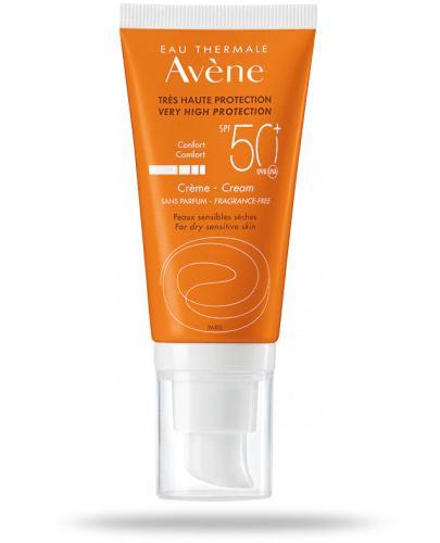 Avene Sun Confort SPF50+ krem ochronny 50 ml