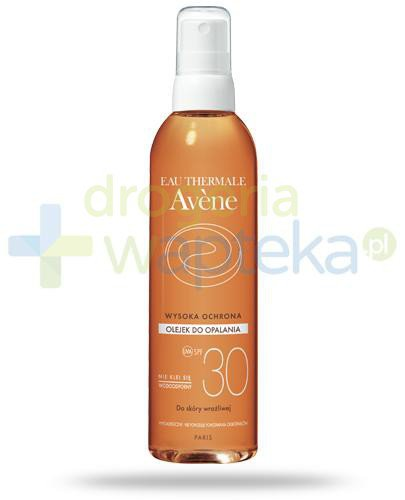Avene Sun SPF30 olejek do ciała 200 ml [Data ważności 30-09-2020]