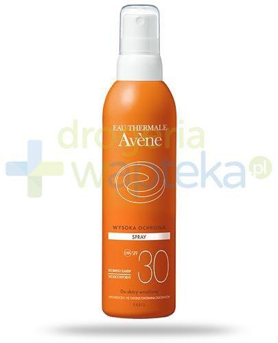 Avene Sun SPF30 spray przeciwsłoneczny 200 ml