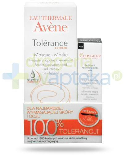Avene Tolerance Extreme maseczka intensywnie kojąco-nawilżająca 50 ml + Avene Couvrance...