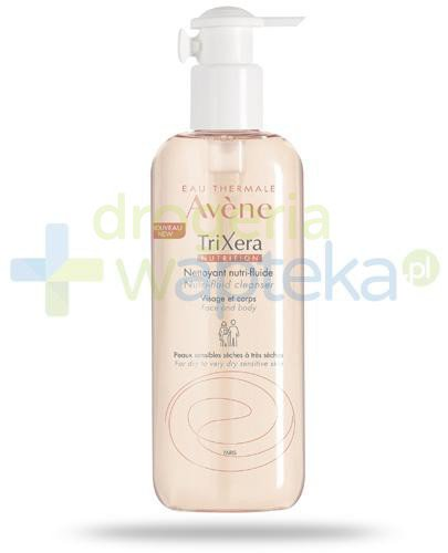 Avene TriXera Nutrition Nutri-fluid żel do twarzy i ciała skóra sucha bardzo sucha i wr...