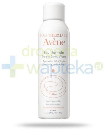 Avene woda termalna w spray'u 300 ml [KUP 2 produkty = Avene body masło 100 ml GRATIS]  whited-out