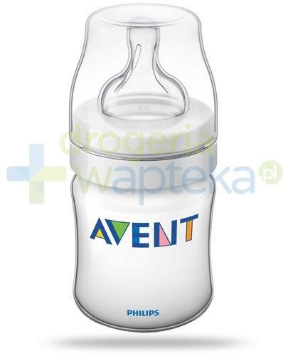 Avent Philips Classic+ butelka dla niemowląt 125 ml ze smoczkiem antykolkowym 0m+ [560/17...