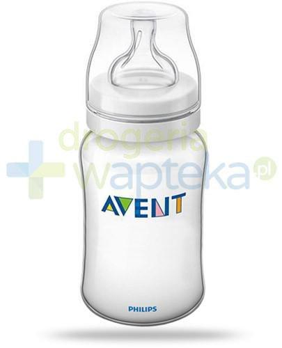 Avent Philips Classic+ butelka dla niemowląt 330 ml ze smoczkiem o regulowanym wypływie ...
