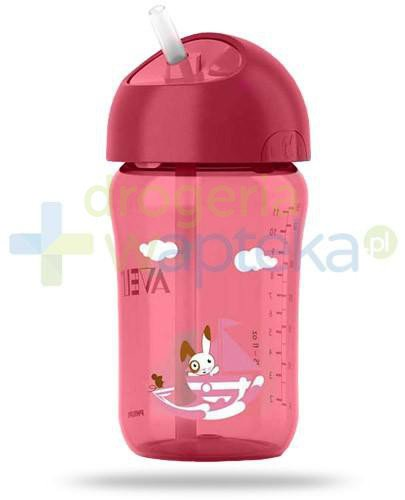 Avent Philips kubek ze słomką do nauki samodzielnego picia 340 ml dla dzieci 18m+ [762/00]