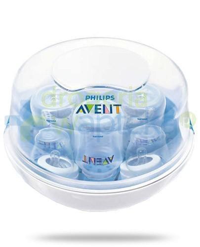 Avent Philips mikrofalowy sterylizator parowy na 4 butelki [281/02]