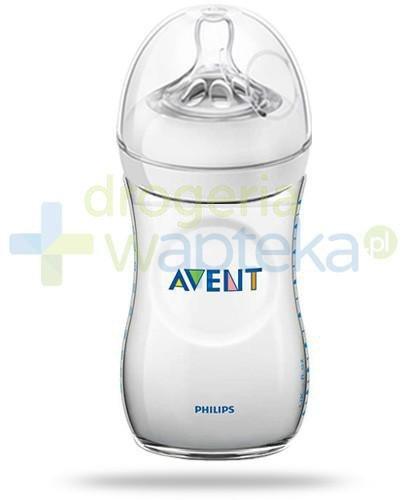 Avent Philips Natural butelka dla niemowląt 260 ml ze smoczkiem o wolnym wypływie dla dz...  whited-out