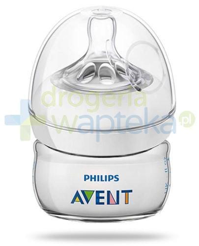 Avent Philips Natural butelka dla niemowląt 60 ml ze smoczkiem dla niemowląt 0m+ [699/17...