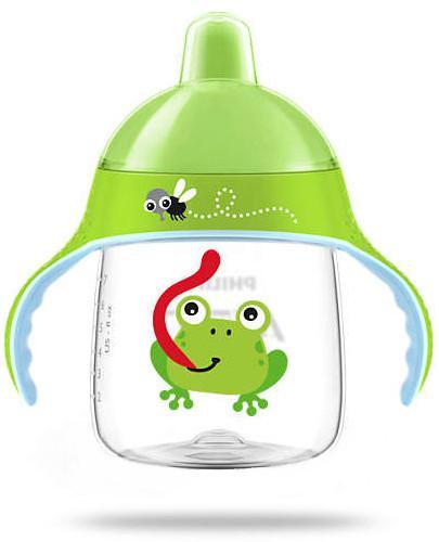 Avent Philips kubek zielony z twardym ustnikiem 260 ml dla dzieci 12 m+ [SCF753/04]