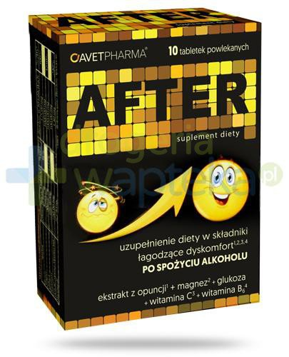 AvetPharma After 10 tabletek powlekanych