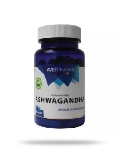 AvetPharma Ashwagandha 60 kapsułek