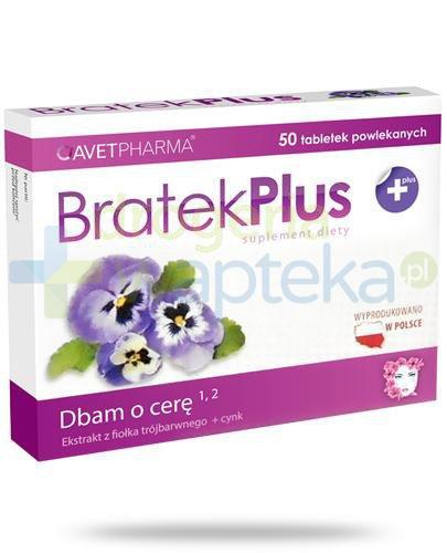 AvetPharma Bratek Plus 50 tabletek powlekanych