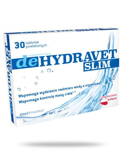 AvetPharma deHydravet Slim 30 tabletek powlekanych