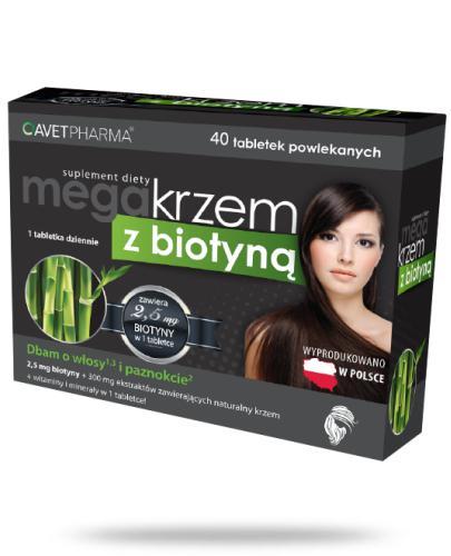 AvetPharma Mega krzem z biotyną 40 tabletek