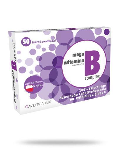 AvetPharma Mega witamina B Complex 50 tabletek