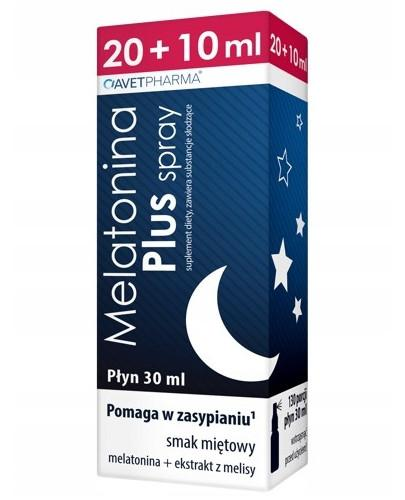 AvetPharma Melatonina Plus spray płyn 30 ml