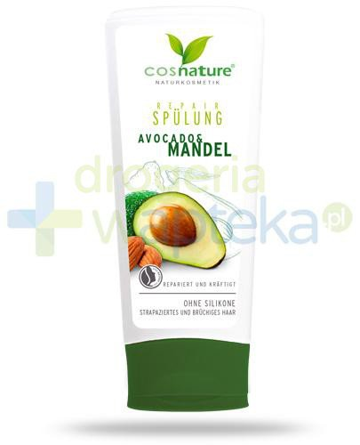 Avocado & Mandel regenerująca odżywka do włosów z awokado i migdałami 200 ml CosNatur...