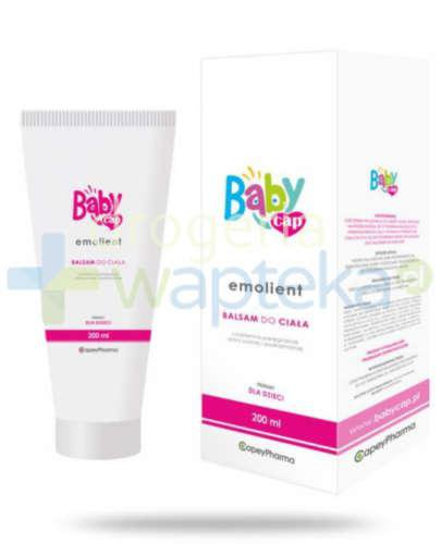 Babycap Emolient balsam do ciała 200 ml  whited-out