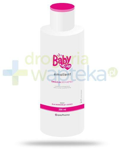 BabyCap Emolient emulsja do kąpieli 200 ml  whited-out