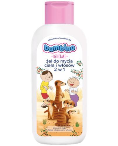 Bambino Dzieciaki żel do mycia ciała i włosów 2 w 1 Bolek i Lolek 400 ml