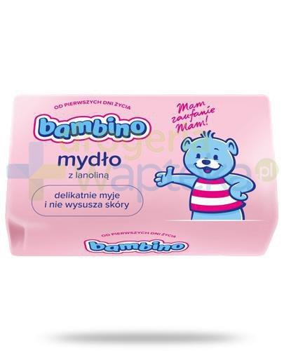 Bambino mydło z lanoliną dla noworodków i dzieci 90 g