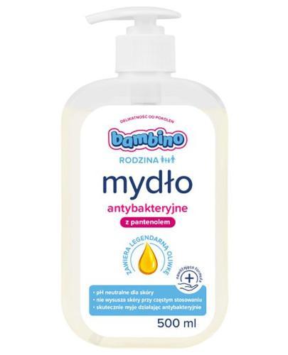 Bambino Rodzina mydło do rąk antybakteryjne 500 ml