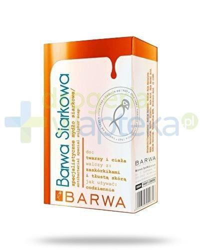 Barwa Siarkowa specjalistyczne mydło siarkowe 100 g