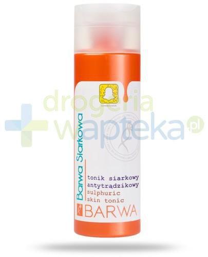 Barwa Siarkowa tonik siarkowy antytrądzikowy 200 ml