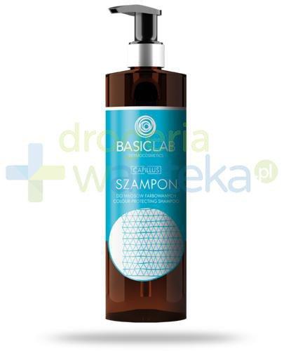 BasicLab Capillus szampon do włosów farbowanych 300 ml [Data ważności 01-03-2021]