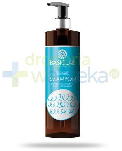 BasicLab Capillus szampon do włosów kręconych 300 ml